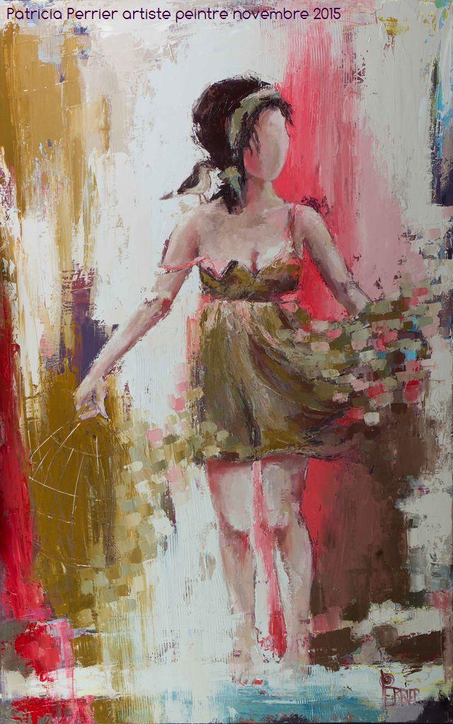Couleur évasion <p> huile sur toile au couteai de 116 x 73