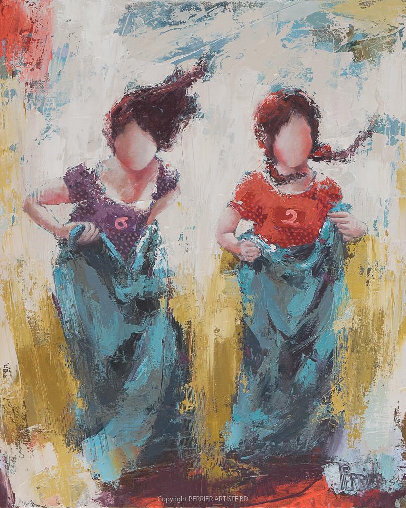 Œuvre originale Patricia Perrier artiste peintre, exposition galerie Lyon, Pont aven, Grignan, Mexico city.
